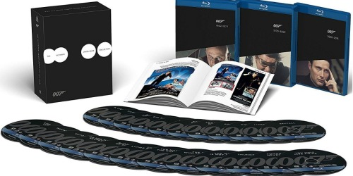 Amazon: James Bond Film Collection Only $94.99 Shipped (Regularly $146) – Lowest Price
