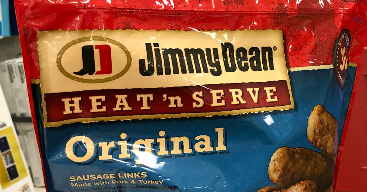 food recall jimmy dean heat n serve sausage links – package front