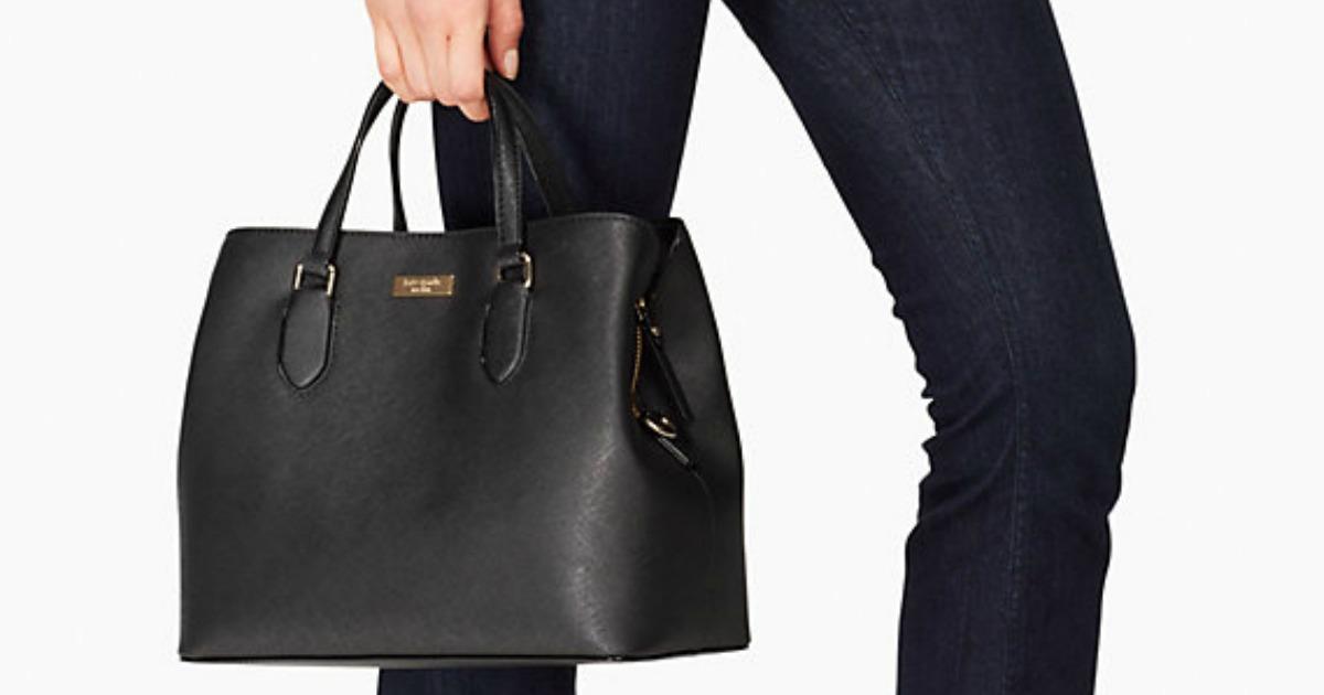 6fc8b4ef83bf Kate Spade Leather Handbag Only 99 Shipped Regularly 359 Hip2save