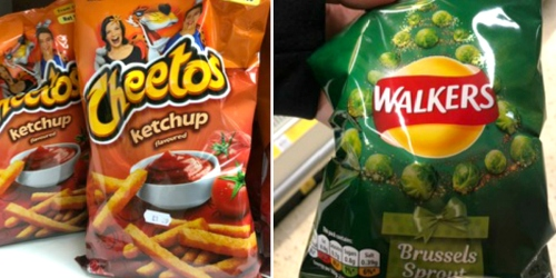 Discovering Interesting Foods While Traveling Abroad (Cheetos Ketchup Flavored, Anyone?)