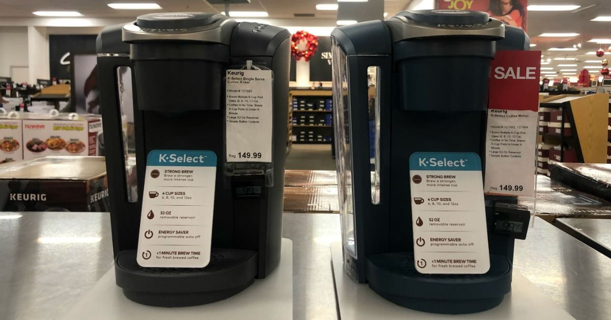 Keurig K-Select Coffee Maker as Low as $69.99 Shipped ...