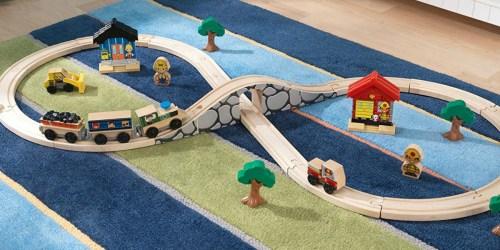 KidKraft Figure 8 Train Set Only $17.41