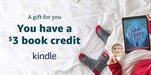 Amazon Email: Claim Your $3 Kindle Book Credit