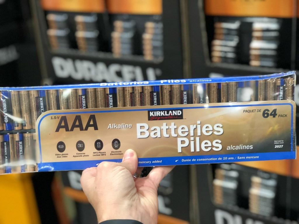 Kirkland Signature AAA batteries