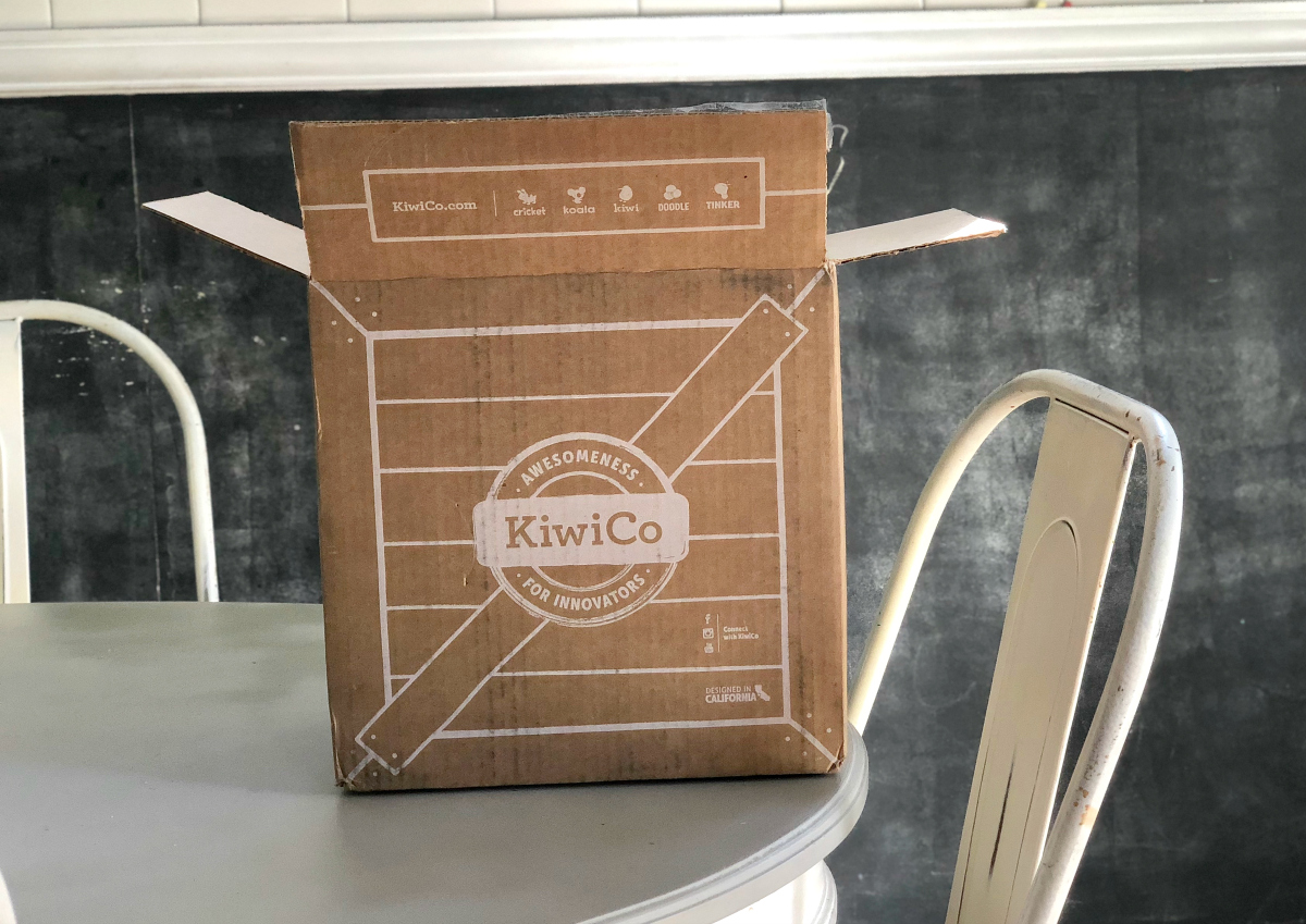 KiwiCo box on a table