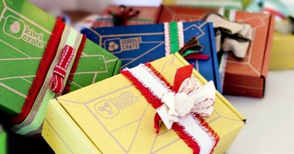 KiwiCrate Boxes