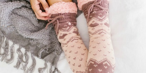 LC Lauren Conrad Sweater Knit Socks as Low as $6.99 Shipped (Regularly $18)