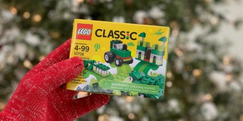 30% Off LEGO Classic, City & Creativity Sets at Michaels