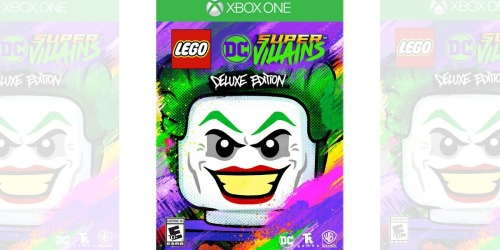 LEGO DC Super-Villains Deluxe Edition Game Only $44.99 Shipped (Regularly $75) – PS4, Xbox & Nintendo Switch
