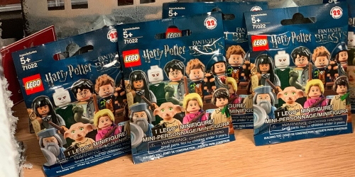 LEGO Harry Potter & Disney Minifigures Only $2.99 at Best Buy