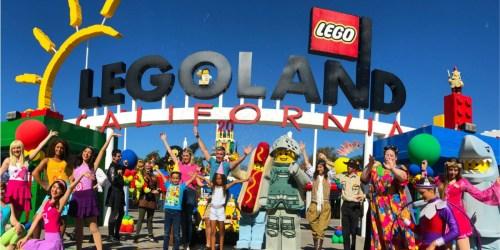Kids Score Free Admission to LEGOLAND California on Their Birthday (Ages 3-12)