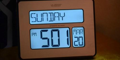 La Crosse Technology Digital Wall Clock w/ Large Digits Only $19 Shipped (Regularly $40)