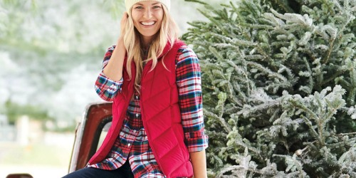 Up to 80% Off Lands' End Outerwear