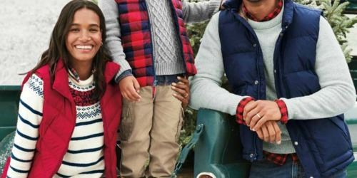 Lands' End Men's Down Vest Only $19.97 (Regularly $80) + More
