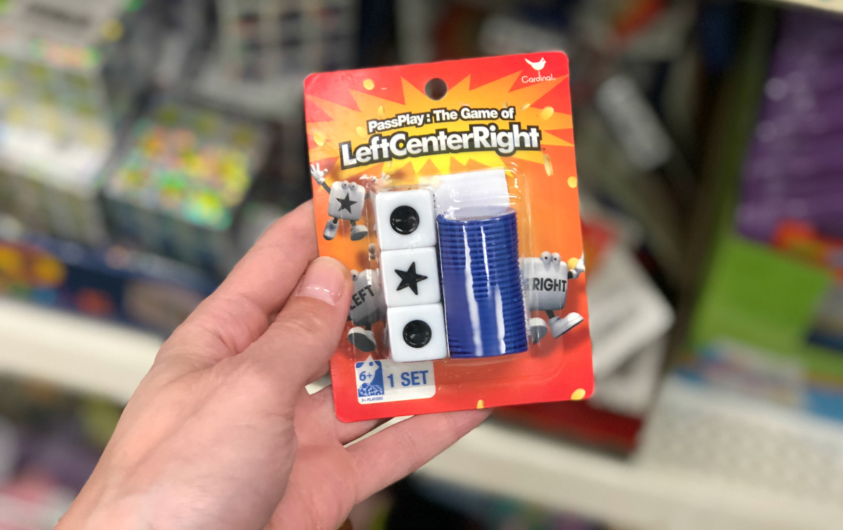 best board card games kids adults families – Left Center Right game