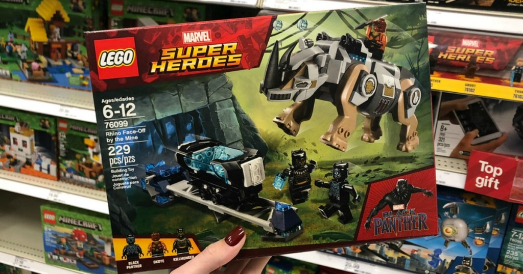 Up To 40 Off Lego Sets At Best Marvel Star Wars Minecraft