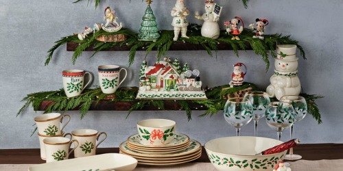 75% off Lenox Christmas Collectibles at Macy's