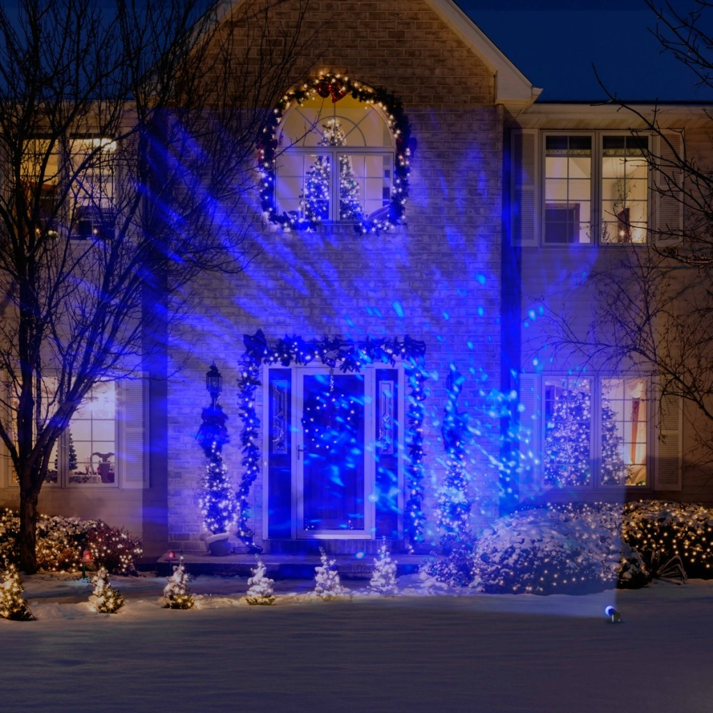 Reject Shop Laser Christmas Lights: Lightshow Christmas Light Projectors Just $4.99 At Walmart.com