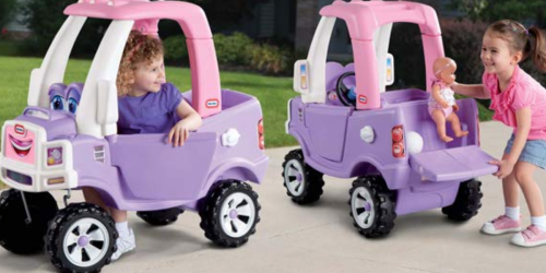 Little Tikes Princess Cozy Truck Only $49.99 Shipped (Regularly $90)
