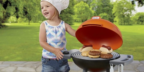 Little Tikes Sizzle & Serve Grill as Low as $14.59 (Regularly $25) at Walmart.com