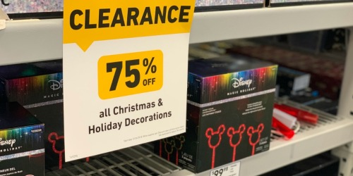 75% Off ALL Holiday Decor at Lowe's