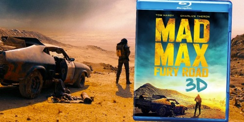 Mad Max: Fury Road 3D Blu-ray Only $9.99 Shipped (Regularly $25)