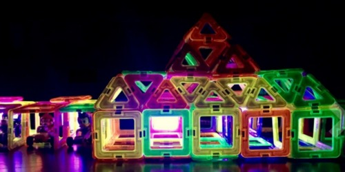 Amazon: Magformers Neon Blacklight 28-Piece Set Only $11.95 Shipped (Regularly $50)