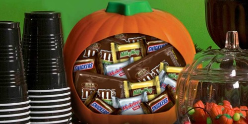 Mars Chocolate Halloween Candy 24 oz Pumpkin Bowl Only $3.72 (Ships w/ $25 Amazon Order)