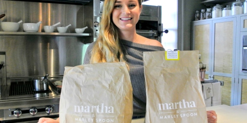 $40 Off Martha & Marley Spoon Meal Kits | Under 30 Minute Meals, Kid-Friendly Options, & More!