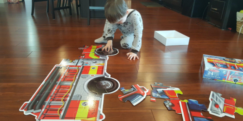 Amazon Prime: Melissa & Doug Giant Fire Truck Floor Puzzle Just $4.99 Shipped (Regularly $15)