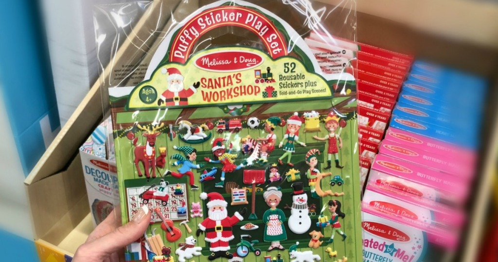 Kids Gift Guide - Melissa & Doug Puffy Stickers