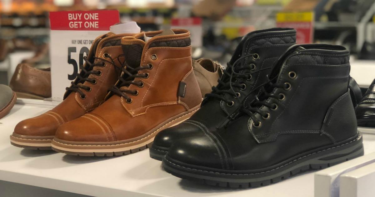 Buy 1, Get 2 FREE Boots, Dress Shoes \u0026