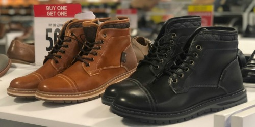 JCPenney: Buy 1, Get 2 FREE Boots, Dress Shoes & Sandals for The Family