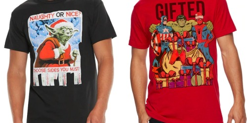 Men's Ugly Christmas Tees as Low as $4.31 at Kohl's (Regularly $14)