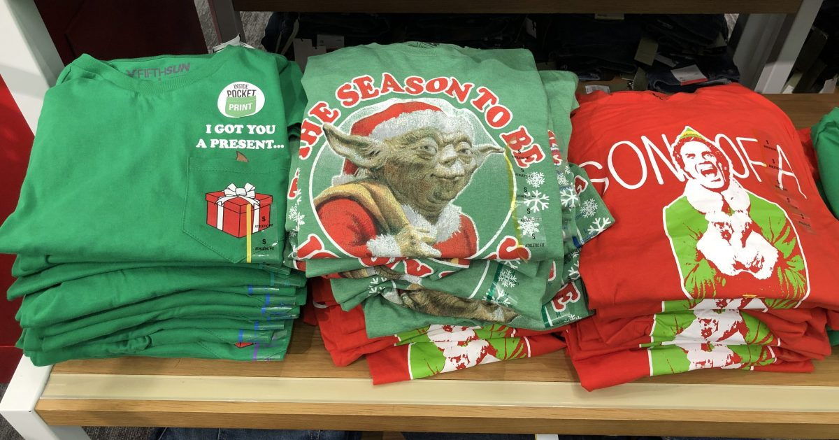 1ddb59f3cbc 40% off discount automatically applied during checkout. Or use the 40% off  Ugly Holiday Sweaters   Tees Cartwheel offer. Final cost  5.99 shipped!