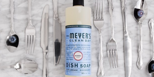 Amazon: Mrs. Meyer's 16oz Dish Soap in Bluebell Only $2.69 Shipped