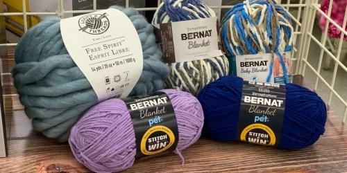 HUGE Yarn Sale at Michaels (In-Store & Online)