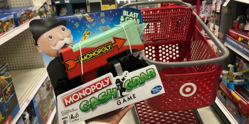 Monopoly Cash Grab Game Only $16.99 at Target (New & Fun Alternative to Traditional Monopoly)