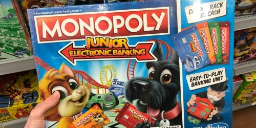 Monopoly Junior Electronic Banking Game Only $9.88 Shipped (Regularly $20)