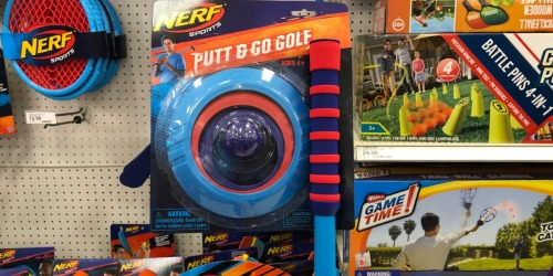 NERF Golf Set Just $5.85 at Target (Regularly $13) – Just Use Your Phone