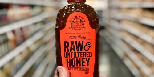 Nature Nate's 100% Raw & Unfiltered Honey 32oz Bottle Only $8.93 Shipped on Amazon
