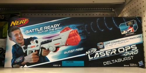 Nerf Laser Ops Pro Deltaburst Only $14.99 at Walmart (Regularly $47)