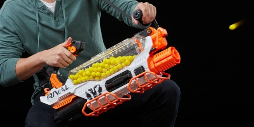 Nerf Rival Prometheus MXVIII-20K Blaster Only $85 Shipped (Regularly $200) – Fully Motorized