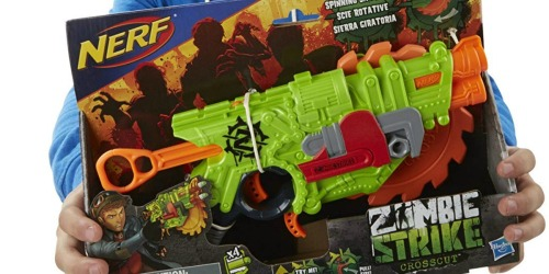 Nerf Zombie Strike Crosscut Blaster Only $6.98 (Regularly $15)