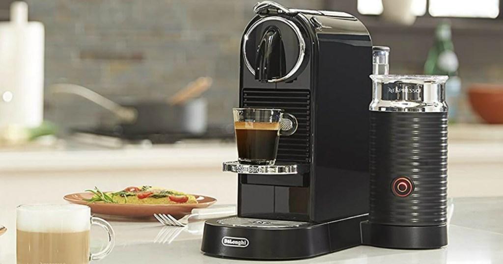 Nespresso CitiZ single-serve espresso maker
