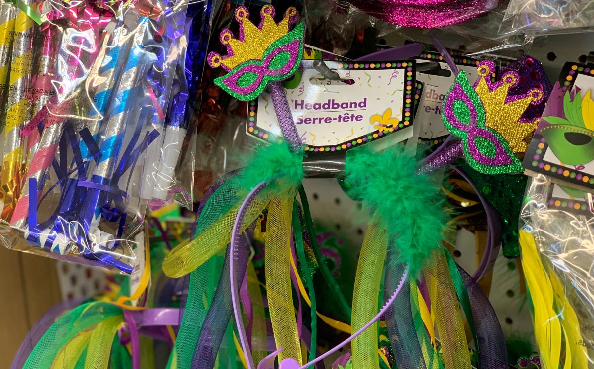 New Year Headband at Dollar Tree