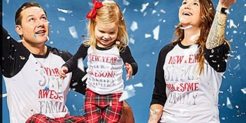 New Year's Family Pajamas Just $12.49 on Zulily (Regularly $34+)