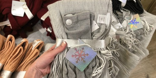 New York & Company Scarf AND Glove Gift Sets Only $5 Shipped (Regularly $23+) – Today Only