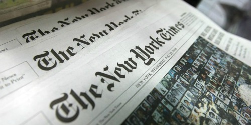 FREE New York Times Digital Edition 6-Month Subscription (New Subscribers Only)