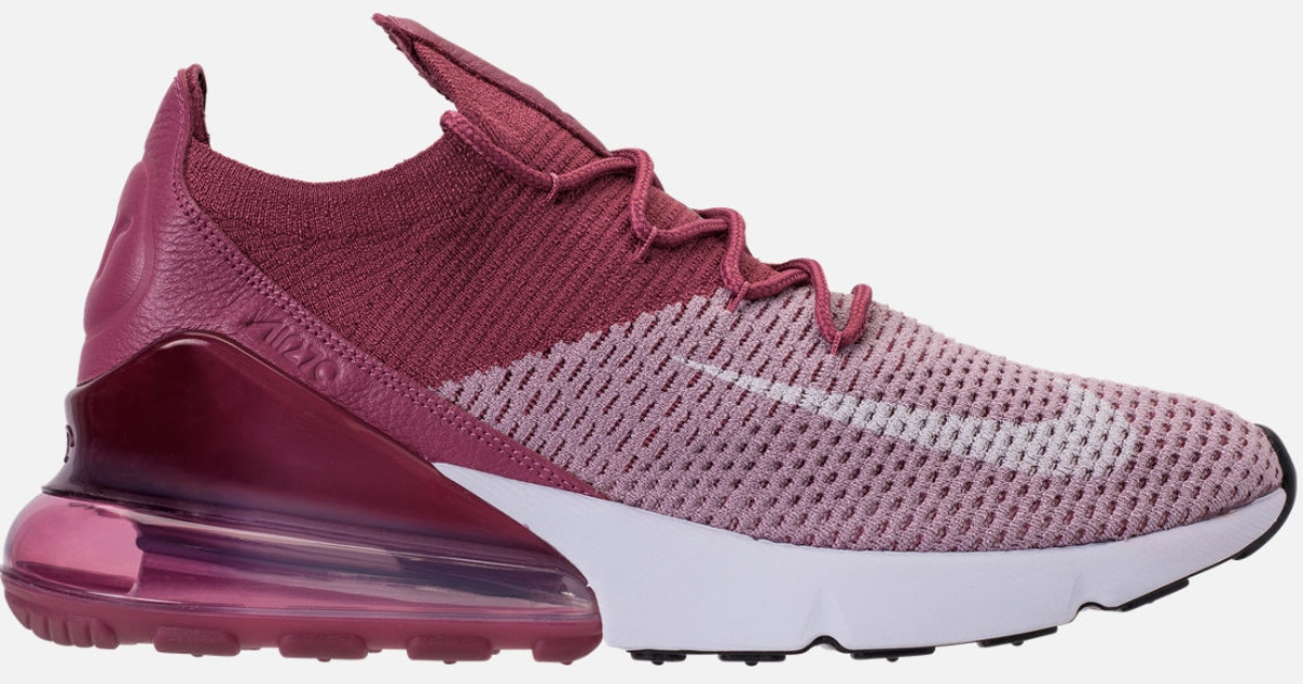 Hop on over to Finish Line where you can score these Nike Men s Air Max 270  Flyknit Shoes in Plum Fog for just  60 (regularly  170). a948488ee9